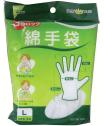 フアスト/綿手袋M 3双入